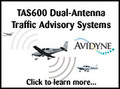 AvSpec installs Avidyne Traffic Advisory Systems for safer flying.